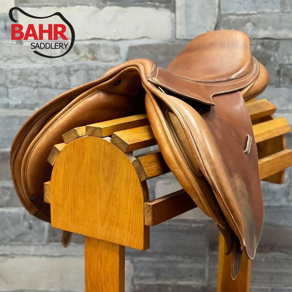 "Used 16"" Bates Caprilli Adjustable Close Contact Saddle"