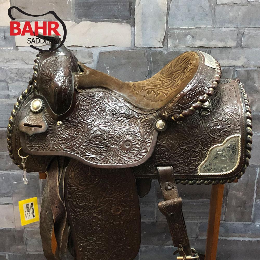 """Used 16"""" Burford Western Saddle"""