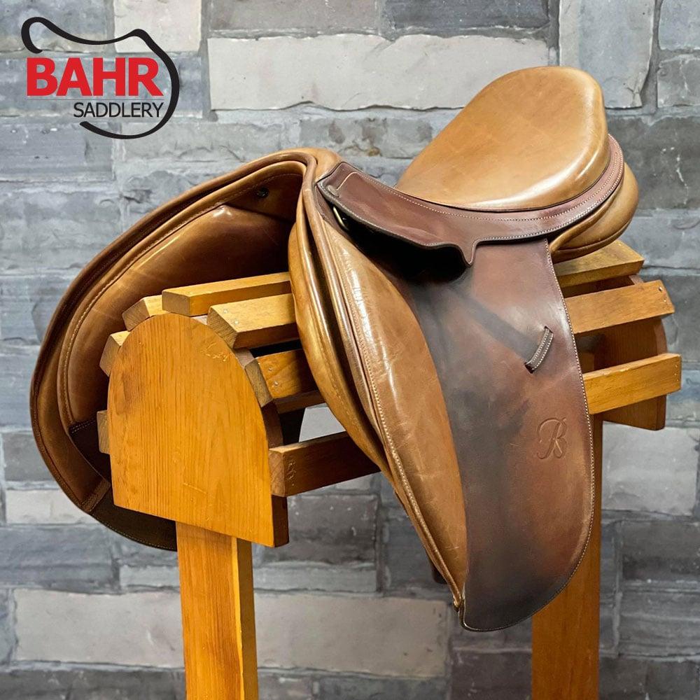 "Used 17"" Bates Caprilli Adjustable Close Contact Saddle"