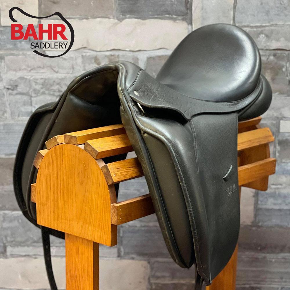 "Used 17.5"" Custom Steffen's Advantage Dressage Saddle"