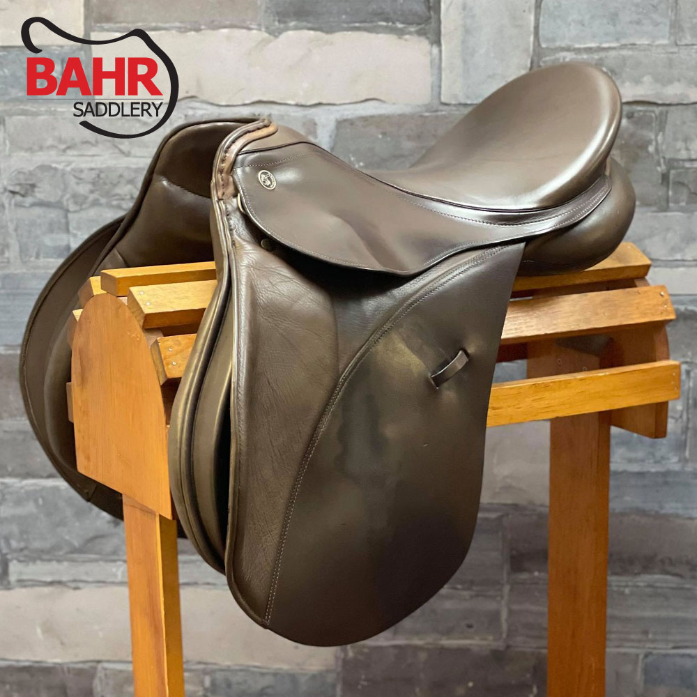 "Used 18"" Kieffer Munchen All Purpose Saddle"