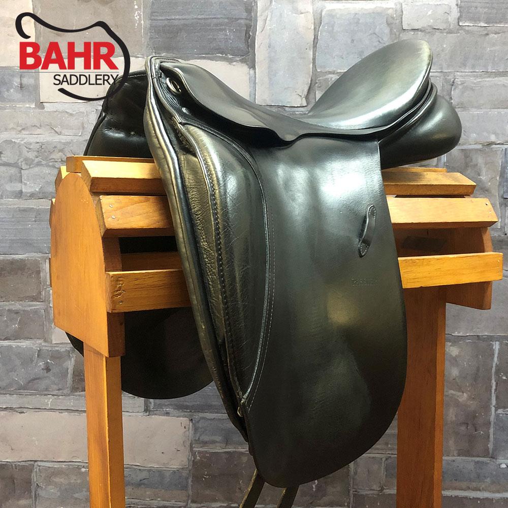 """Used 18"""" Passier H. Schmidt Dressage Saddle"""