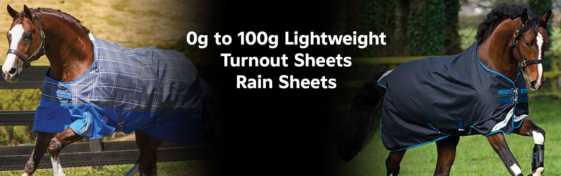 Turnout Sheets/Rain Sheets