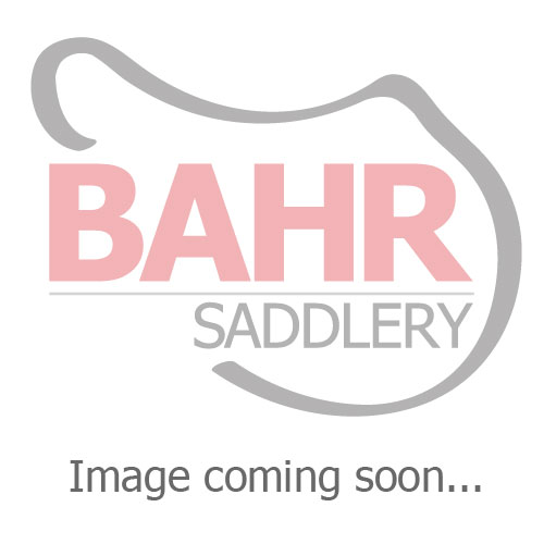 "Used 17.5"" Bates Caprilli Adjustable Close Contact Saddle"