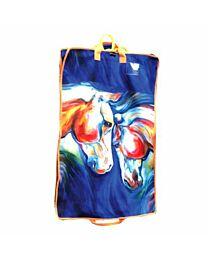 "Art of Riding ""Twin Horses"" Garment Bag"