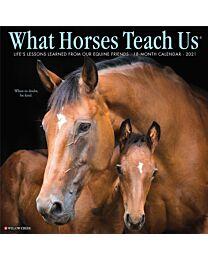 2021 Calendar - What Horses Teach Us