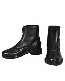 TuffRider Youth Winter Fleece-Lined Front Zip Paddock Boots
