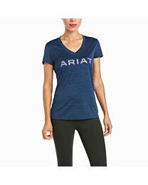 Ariat Laguna Logo Ladies' Short Sleeved Tee Shirt
