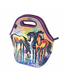 """Art of Riding """"Friends in Colour""""  Tote/Lunch Bag"""