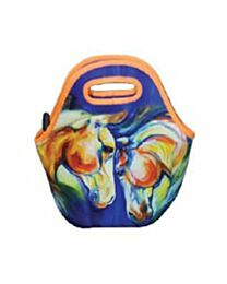 """Art of Riding """"Twin Horses"""" Tote/Lunch Bag"""