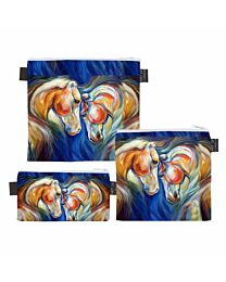 """Art of Riding """"Twin Horses"""" Trio Bags"""