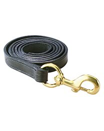 Bahr's Leather Lead with Brass Clip
