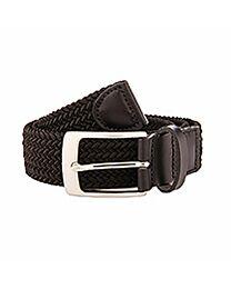 Braided Stretch Leather Belt