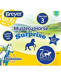 Breyer 70th Anniversary Mystery Surprise Stablemates