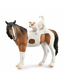Breyer by CollectA Corral Pals Mare & Terrier