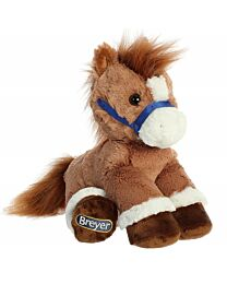 "Breyer ""Chestnut"" Sitting Plush Horse"