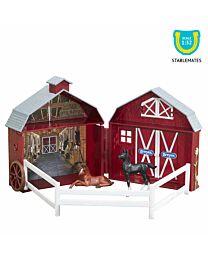 Breyer Friendship Foals Pocket Barn