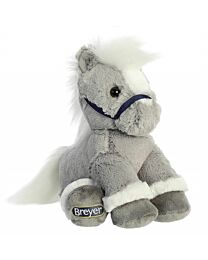 "Breyer ""Grey"" Sitting Plush Horse"