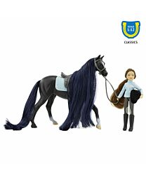 Breyer Jet & English Rider, Charlotte