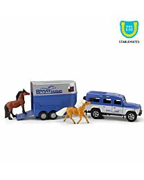 Breyer Land Roover and Tag-A-Long Horse Trailer