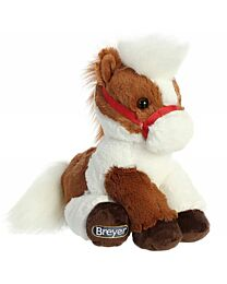 "Breyer ""Pinto"" Sitting Plush Horse"