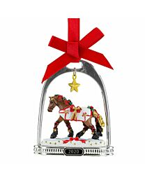 "Breyer ""Yuletide Greetings"" Holiday Horse - Stirrup Ornament Collection"