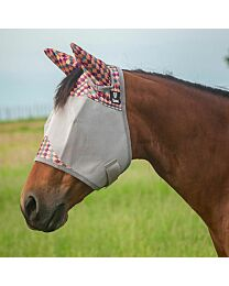 """Cashel Crusader """"Palms"""" Standard Fly Mask with Ears"""