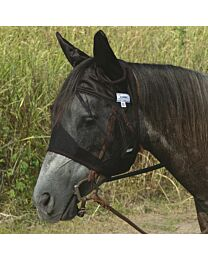 Cashel Quiet Ride Standard Nose Fly Mask with Ears