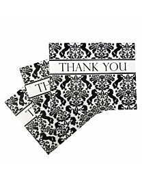"""Costa Classic """"Regal"""" Thank You Note Cards"""