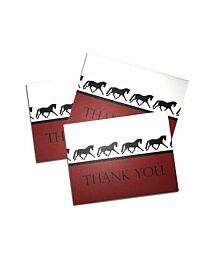 """Costa Classics """"Dressage Horse"""" Thank You Note Cards"""