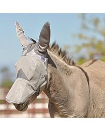 Crusader Long Fly Mask with Mule Ears