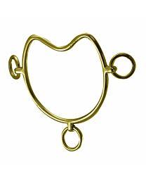 Curved Brass Chifney Bit