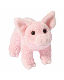 Douglas Cuddle Buttons Pink Pig
