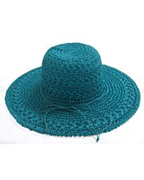 Dorfman Pacific Crocheted Toyo Drawstring Hat