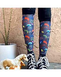 "Dreamers & Schemers ""More Leg"" Boot Socks"