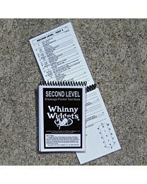 Dressage Test Book - Second Level