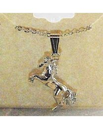 Necklace - Rearing Horse