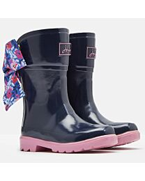 """Joules Jr. """"Bow"""" Girls' Wellies"""