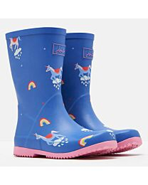 Joules Jr. Roll Up Wellies