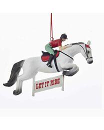 "Kurt S. Adler ""Let it Ride Jumper"" Ornament"
