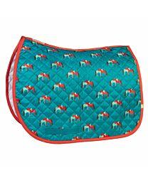 """Lettia """"Hugging Horses"""" Printed Baby Pad"""