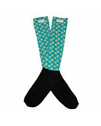 """Lettia """"Pineapple"""" Padded Boot Socks"""