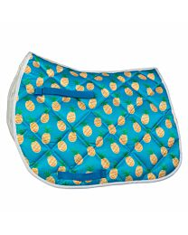 "Lettia ""Pineapple"" Printed Saddle Pad"