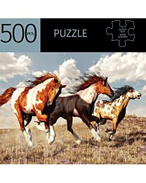 """""""Pinto Horses"""" Puzzle"""