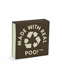 PooPooPaper Made From Real Poo Scratch Pad