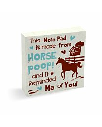 PooPooPaper Reminded Me of You Scratch Pad