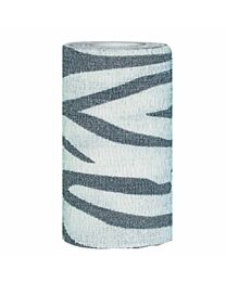 Poweflex Zebra Print Bandage