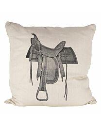 "Sunbrella ""Saddle"" Indoor/Outdoor Pillow"
