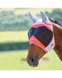 Shires Equestrian Air Motion Fly Mask with Ears