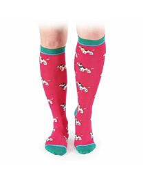 """Shires Equestrian """"Jack Russell"""" Every Day Socks"""
